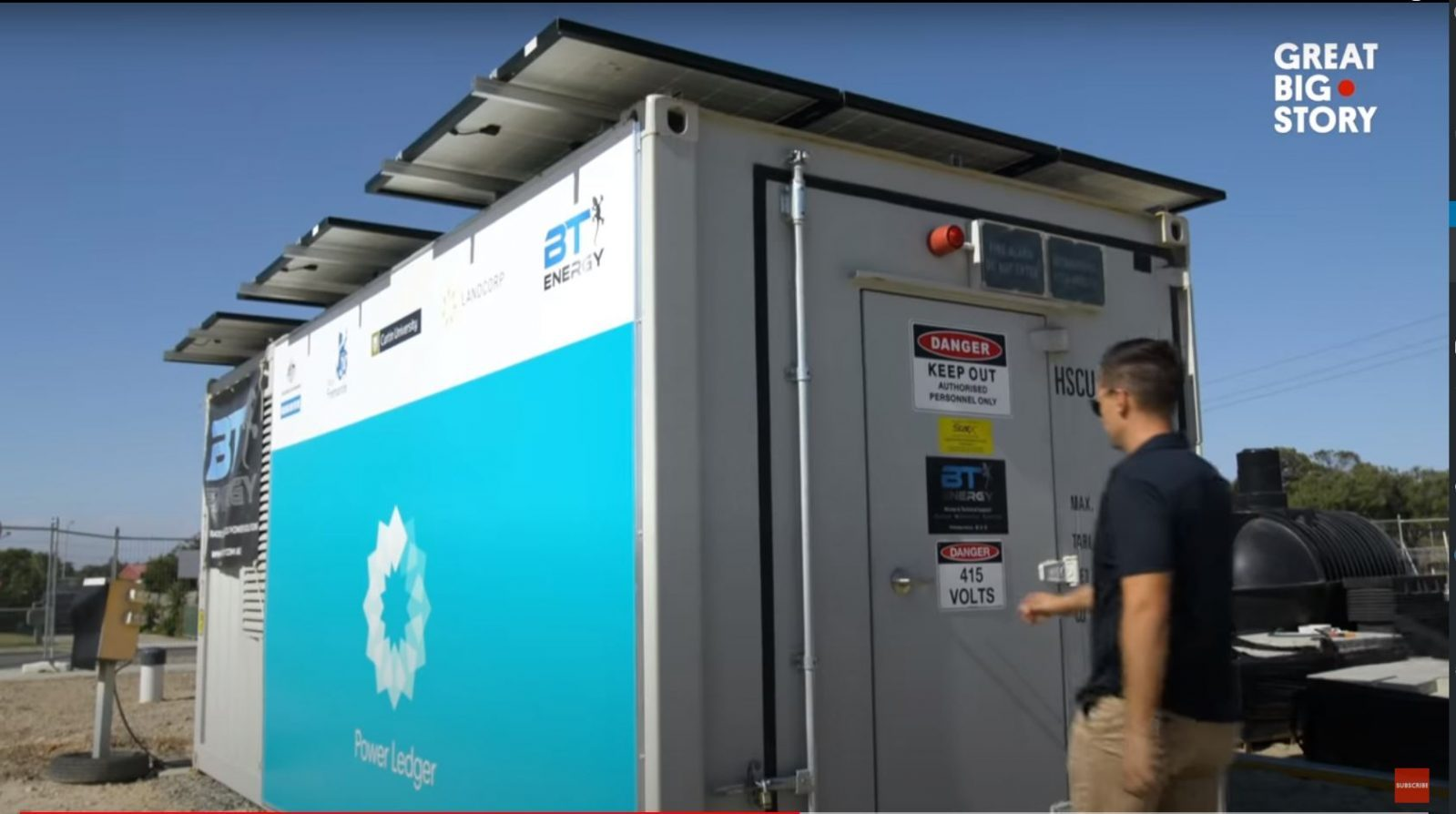 BT Energy - Battery Energy Storage System - BESS - CNN - Great Big Story