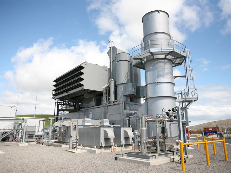 BT Energy Gas Turbine and Diesel Fuel Package Technology