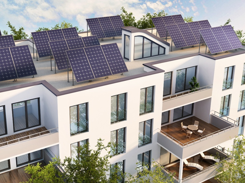 BT Energy Connected Community Embedded Energy Network Technology featuring Roof Top Solar and Battery Energy Storage System